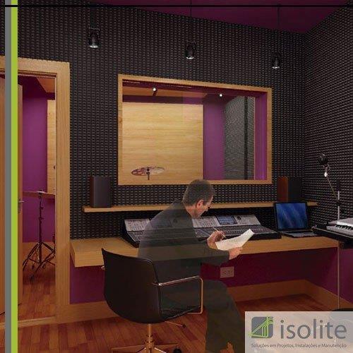 Isolamento acustico industrial
