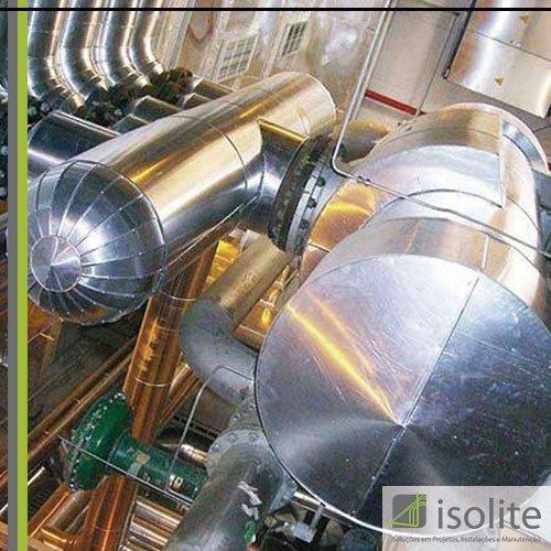 Isolamento térmico de equipamentos