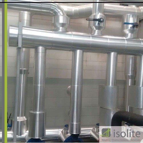 Isolamento de tubulação de ar condicionado