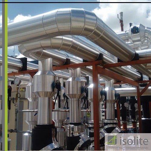 Montagem de sistema de ar condicionado