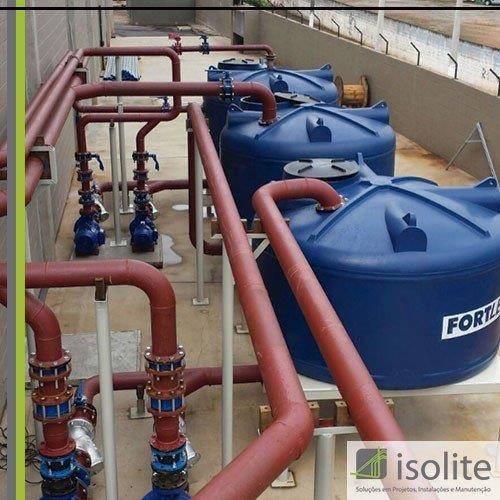 Serviço de montagem hidráulica