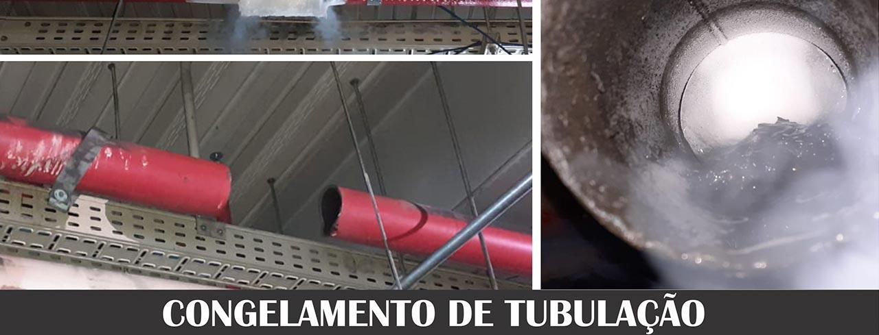 Bloqueio de tubulação