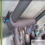 Isolamento de tubulação de agua gelada