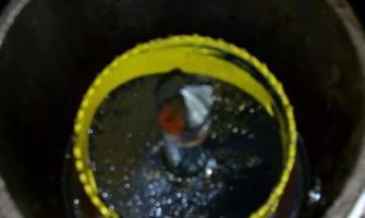 Trepanação em tubulação de água gelada